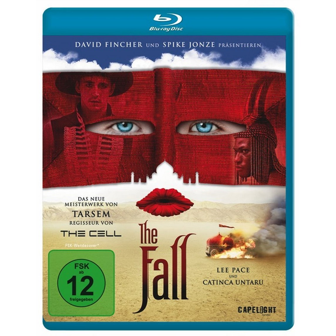 The Fall BluRay Cover